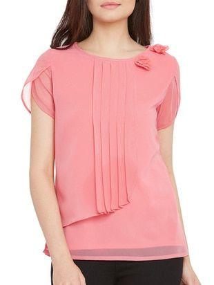 9cd044266435f Pin de Neetu Singh en limeroad look | Tops, Pink tops y Tunic tops