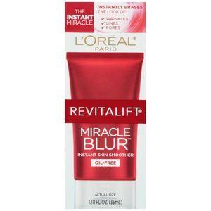 L'Oreal RevitaLift Miracle Blur Oil-free Instant Skin Smoother Oil-Free, 1.18 OZ | L'Oreal Paris RevitaLift Miracle Blur Oil-free Instant Skin Smoother Oil-Free, 1.18 oz | CVS