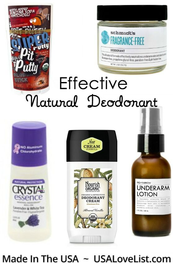 Best Natural Deodorant Brands All Made In The Usa Usa Love List Best Natural Deodorant Natural Deodorant Brands Natural Deodorant