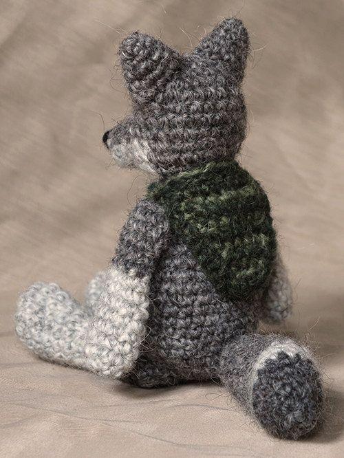 Amigurumi Crochet Wolf Pattern Por Sonspopkes En Etsy Crochet
