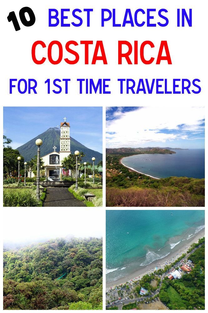 Best Places To Visit In A Rica Points Of Interest