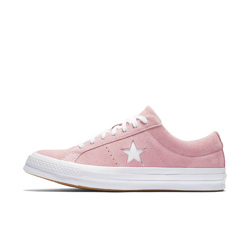 Converse One Star Classic Suede Low Top Shoe Size 8.5 (Pink