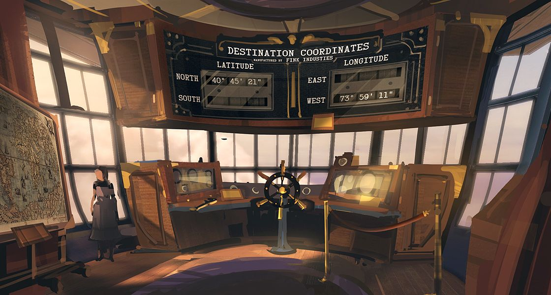 airship interior Google Search Bioshock, Bioshock