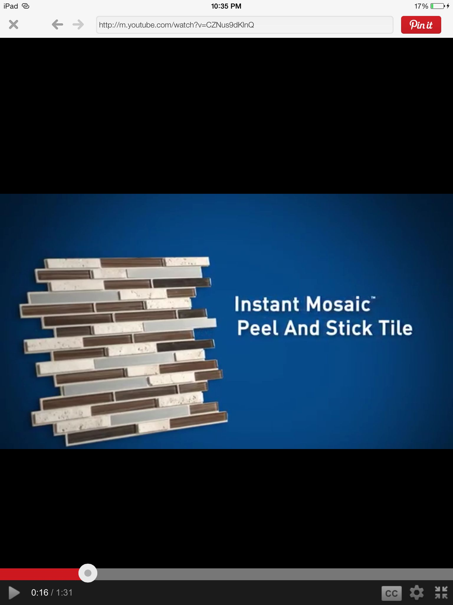 Lowes No Grout Back Splash Peel And Stick Tile Instant Mosaic