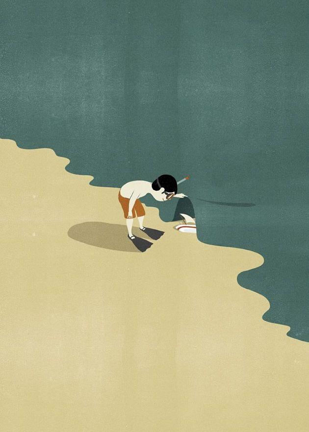 Marivi Trombeta: Ilustración: Shout, la esencia de la imagen
