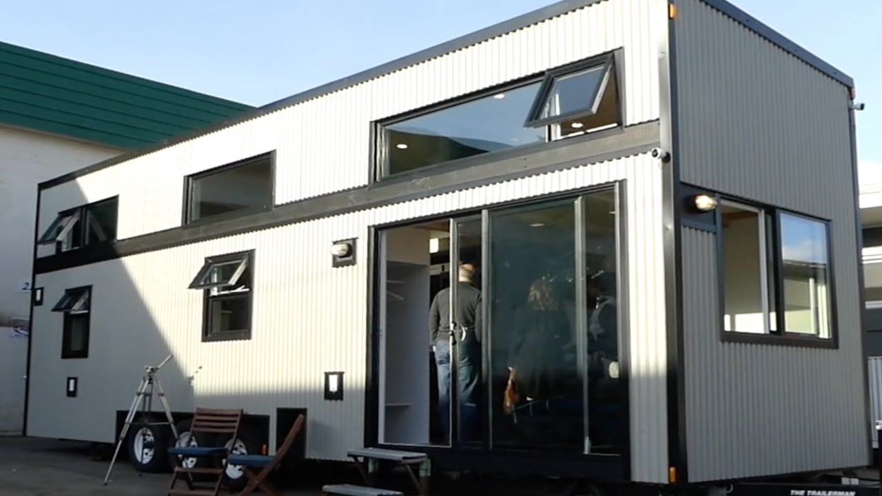 large-ish tiny house with high tech heating system (bosch)   tiny