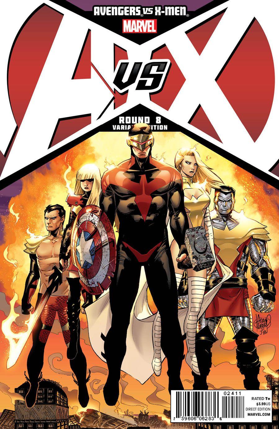 Avengers Vs X Men 8 Phoenix Five Marvel Comics Artwork Comics Comic Art