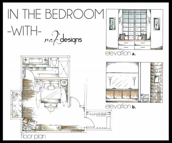 image result for interior design floor and elevation plans living