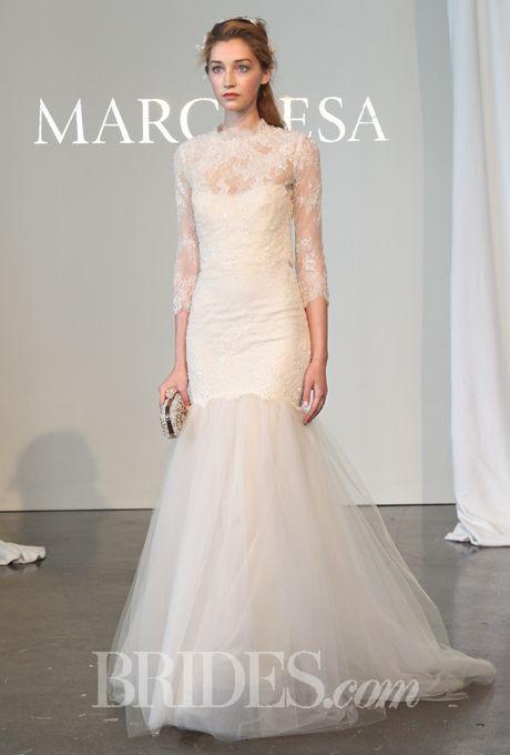 Marchesa - Spring 2015 | Marchesa, Marchesa wedding dress and Lace ...