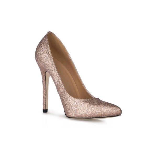 9284f83aad2 Glitter Pointy Toe Stiletto Heel Pump(the size is smaller) ( 41 ...