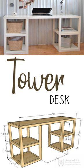 Parson Tower Desk