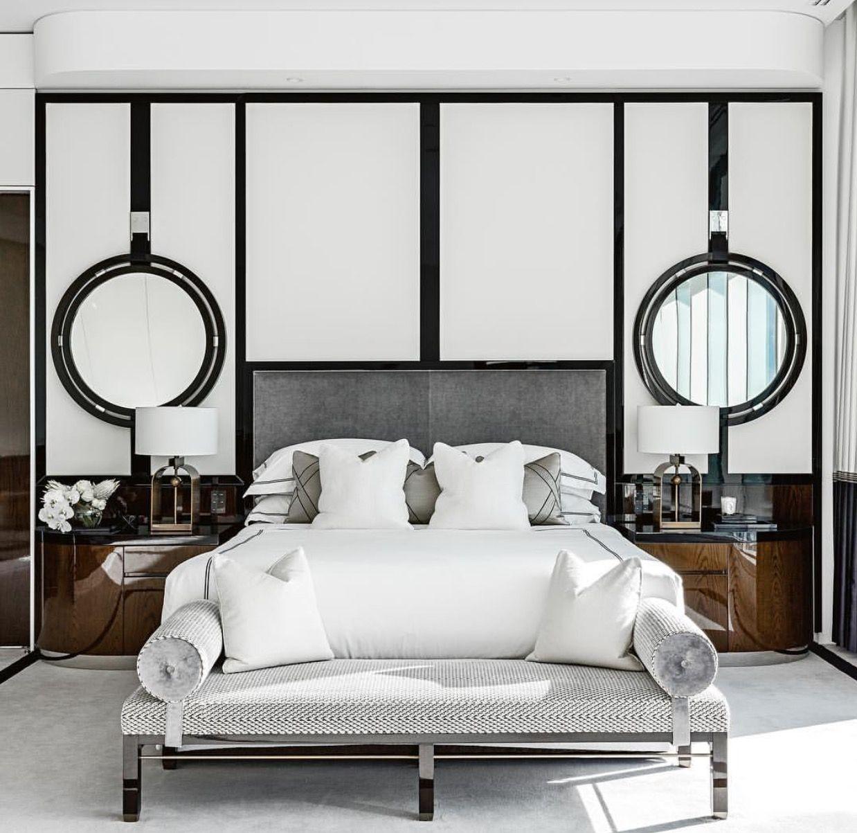 20+ Beautiful Vintage Mid Century Modern Bedroom Design
