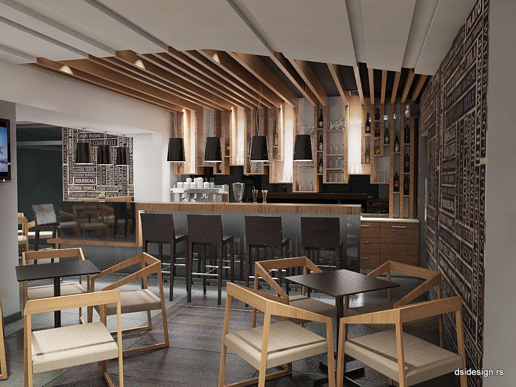 Kafe bar, Hrvatska | 3D Arhitektonske vizualizacije | 3D Enterijer | 3D Eksterijer | 3D Animacije