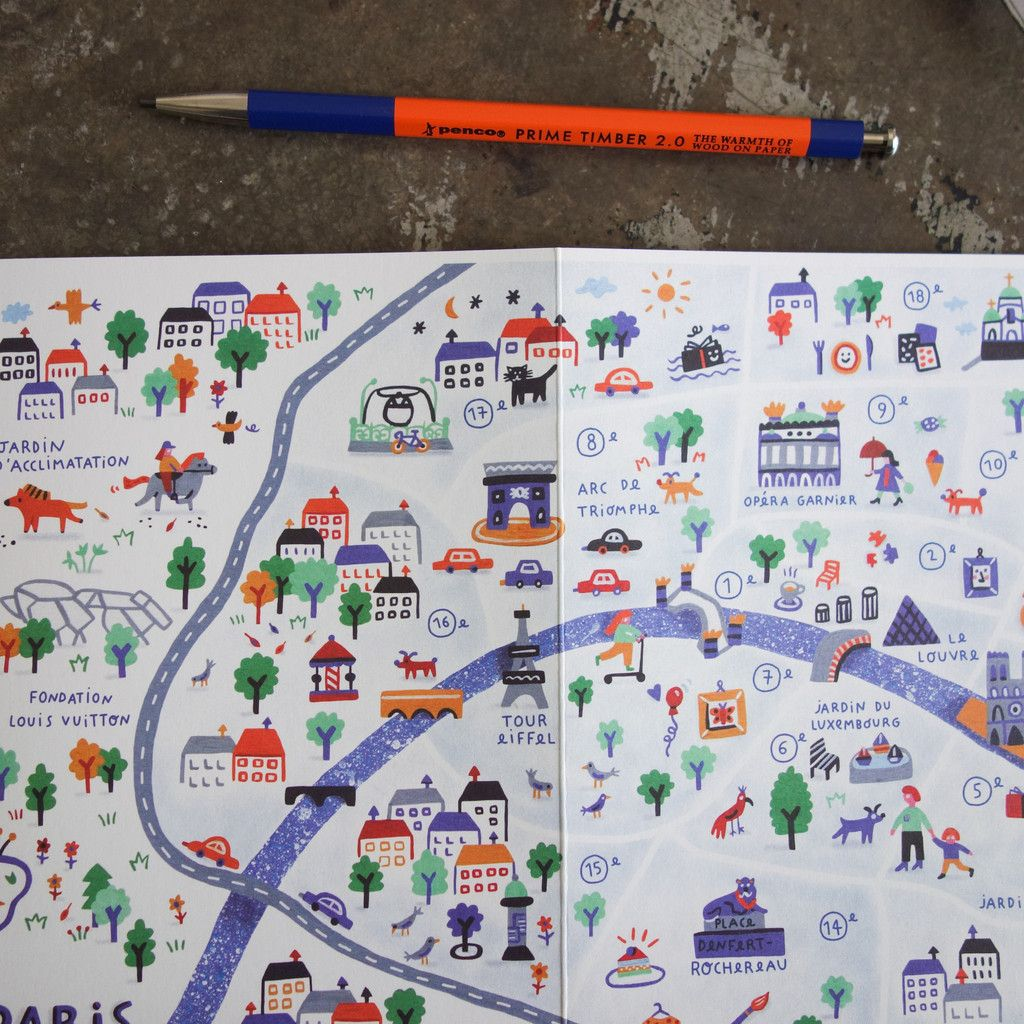 the new voyager map for kids who travel paris