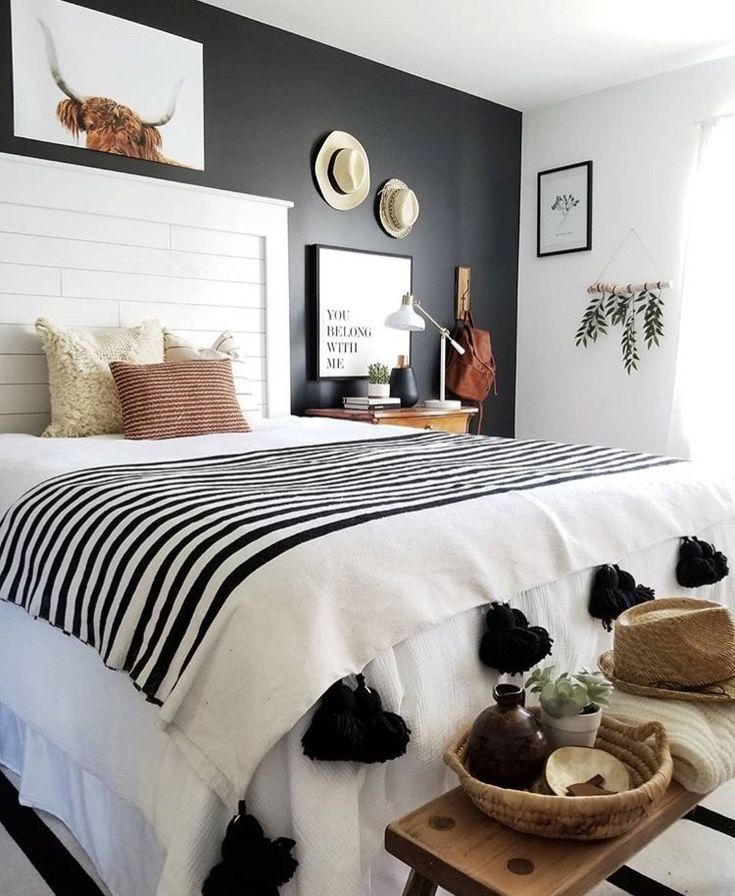Best Black White Tan Bedroom In 2019 Home Decor Bedroom Home Bedroom Bedroom Decor 400 x 300