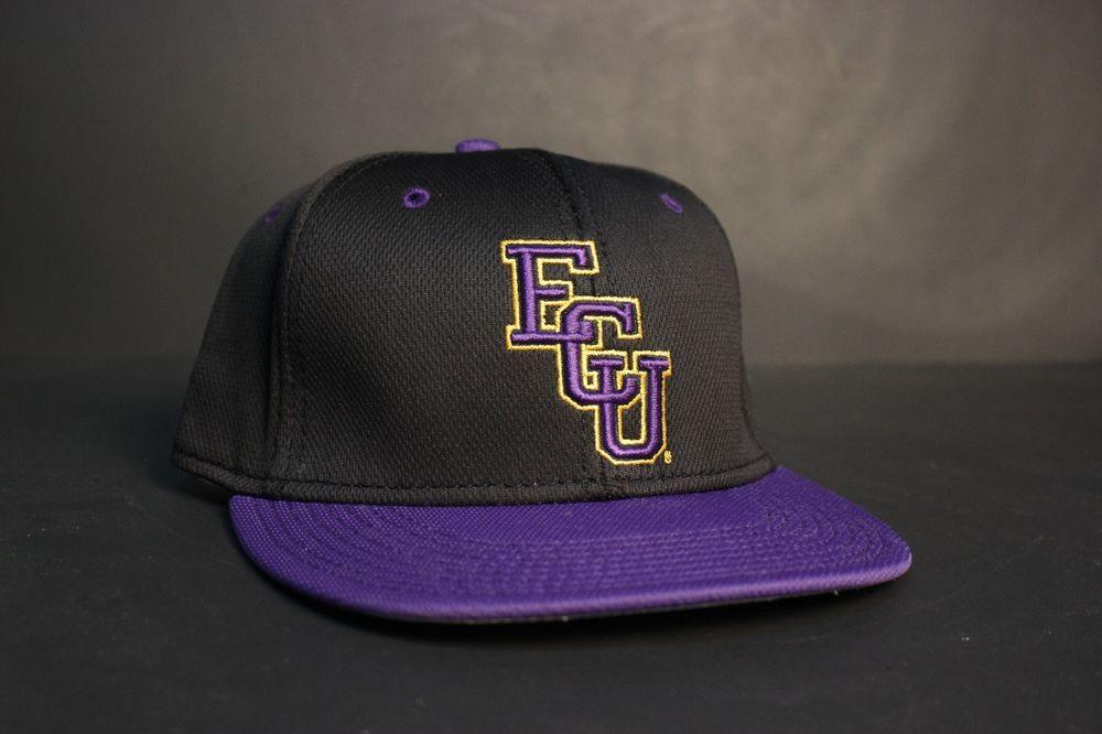 30267750604 ... clearance ecu pirates baseball hat cap 7 1 2 black purple yellow fitted east  carolina nwt