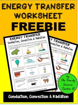 Use This Freebie In Your Next Heat Energy Transfer Lesson Complete With Answer Key T Energy Transfer Activities Heat Transfer Science Energy Transfer Lesson
