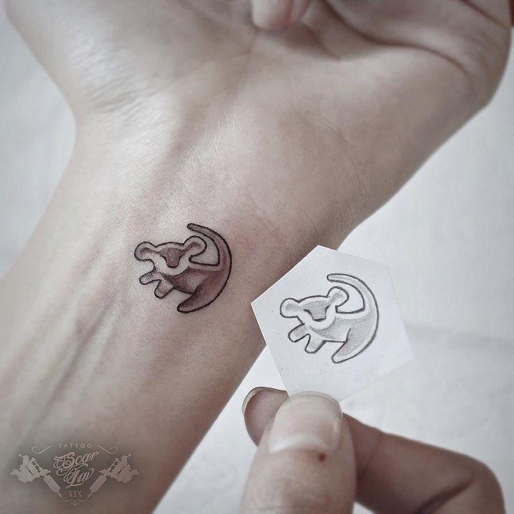 27 Simba Tattoo Ideas Lion King Tattoo Tattoos