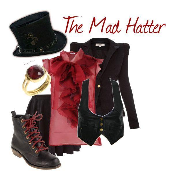 Homemade Mad Hatter Costume For Girls