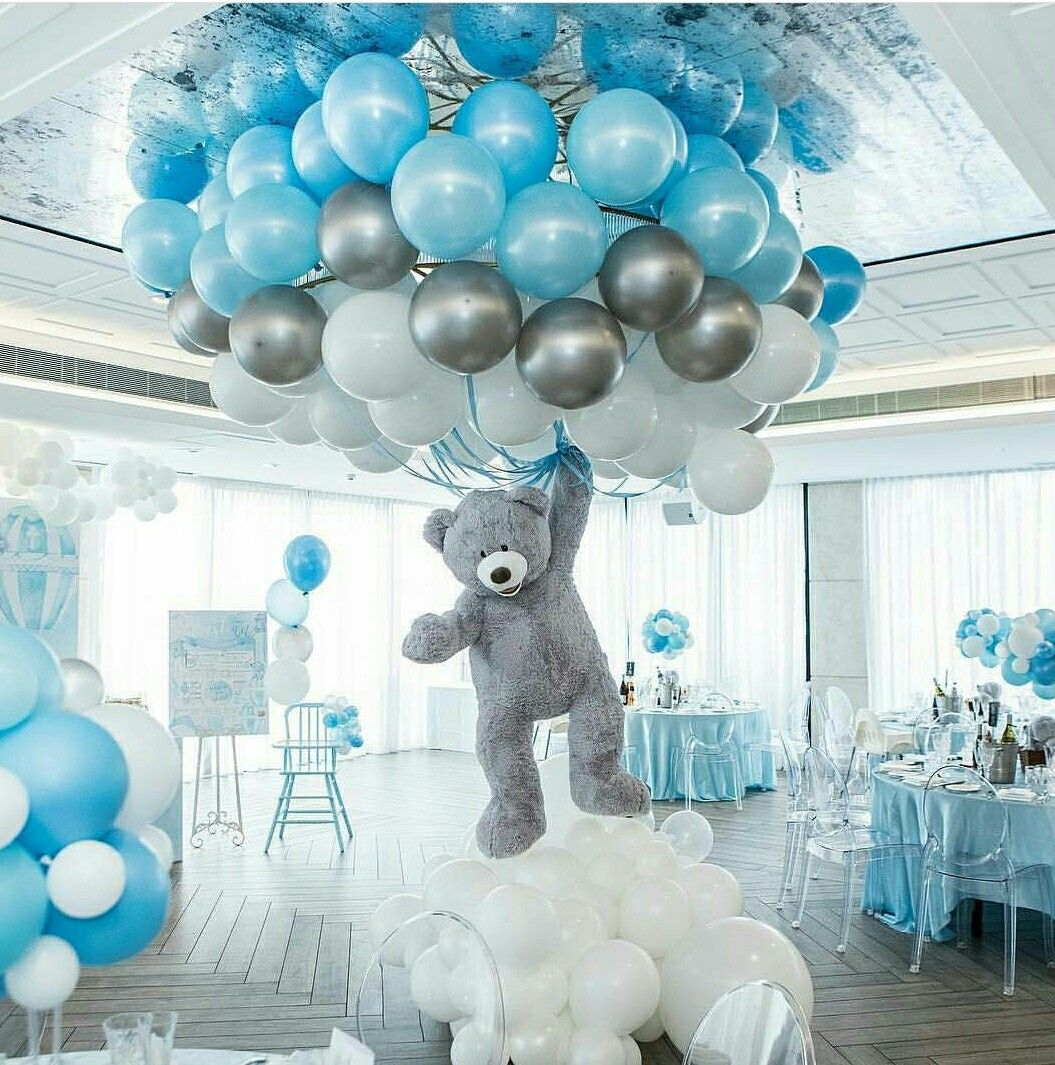 Omg Cutest Baby Shower Decor Ever Creative Baby Shower Themes Baby Shower Balloons Baby Shower Centerpieces