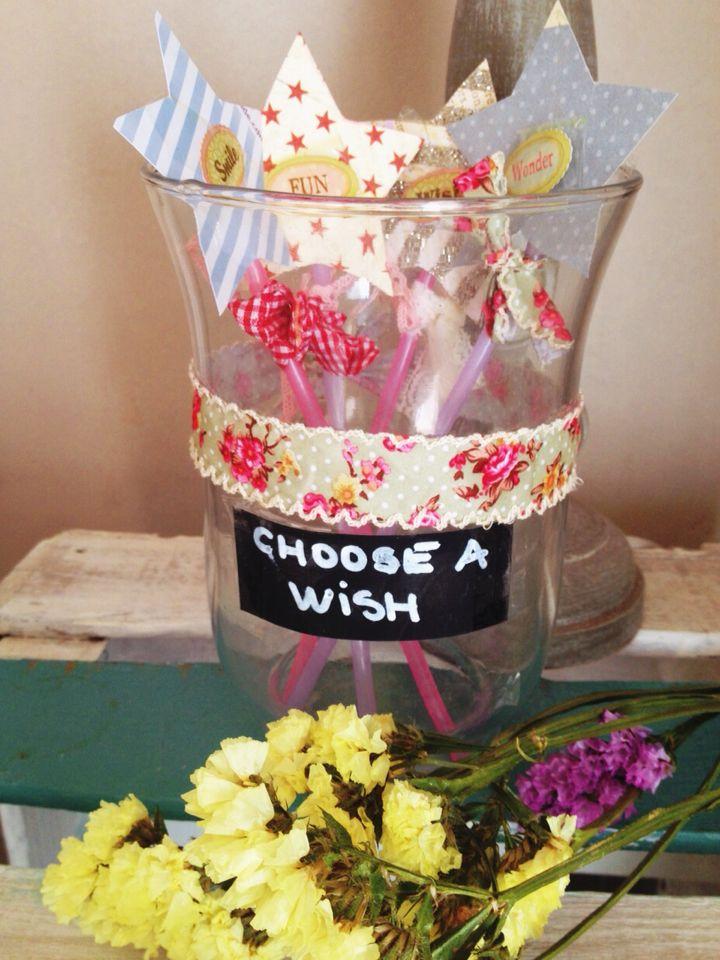 Varetes màgigues de desitjos# decoració per festes infantils