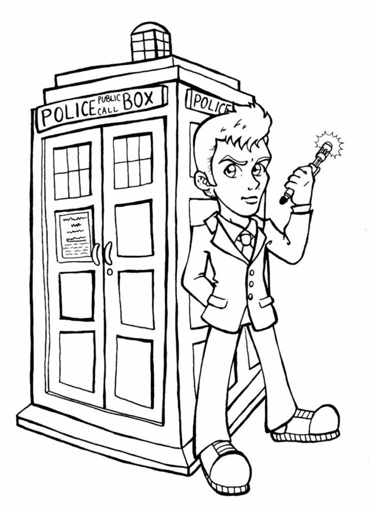 Best Doctor Coloring Pages Taken