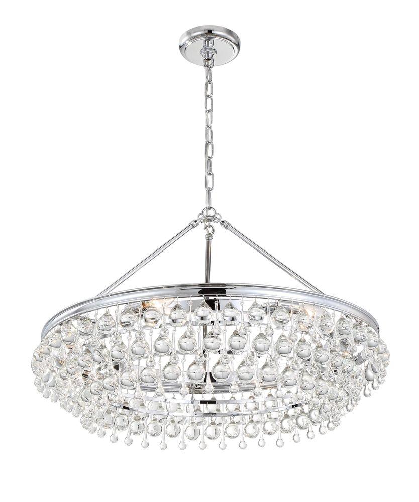 Crystorama 275 calypso 30 inch chandelier