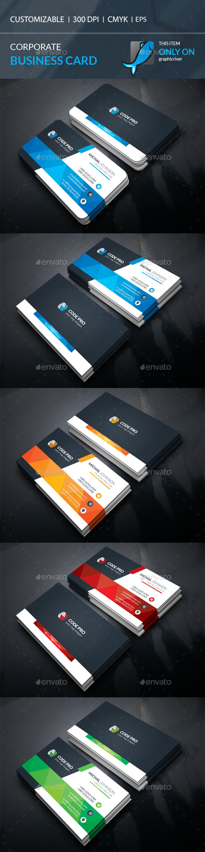 Business Card Template Vector EPS, AI Illustrator ...