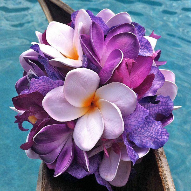 Букет тропических цветов, цветов санкт-петербургу выгодным