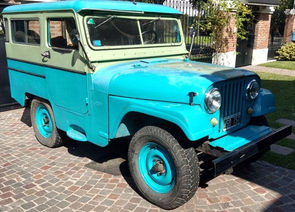 Es Un Jeep Ika Modelo 1962 Carrozado En Poder De Mi Familia Desde