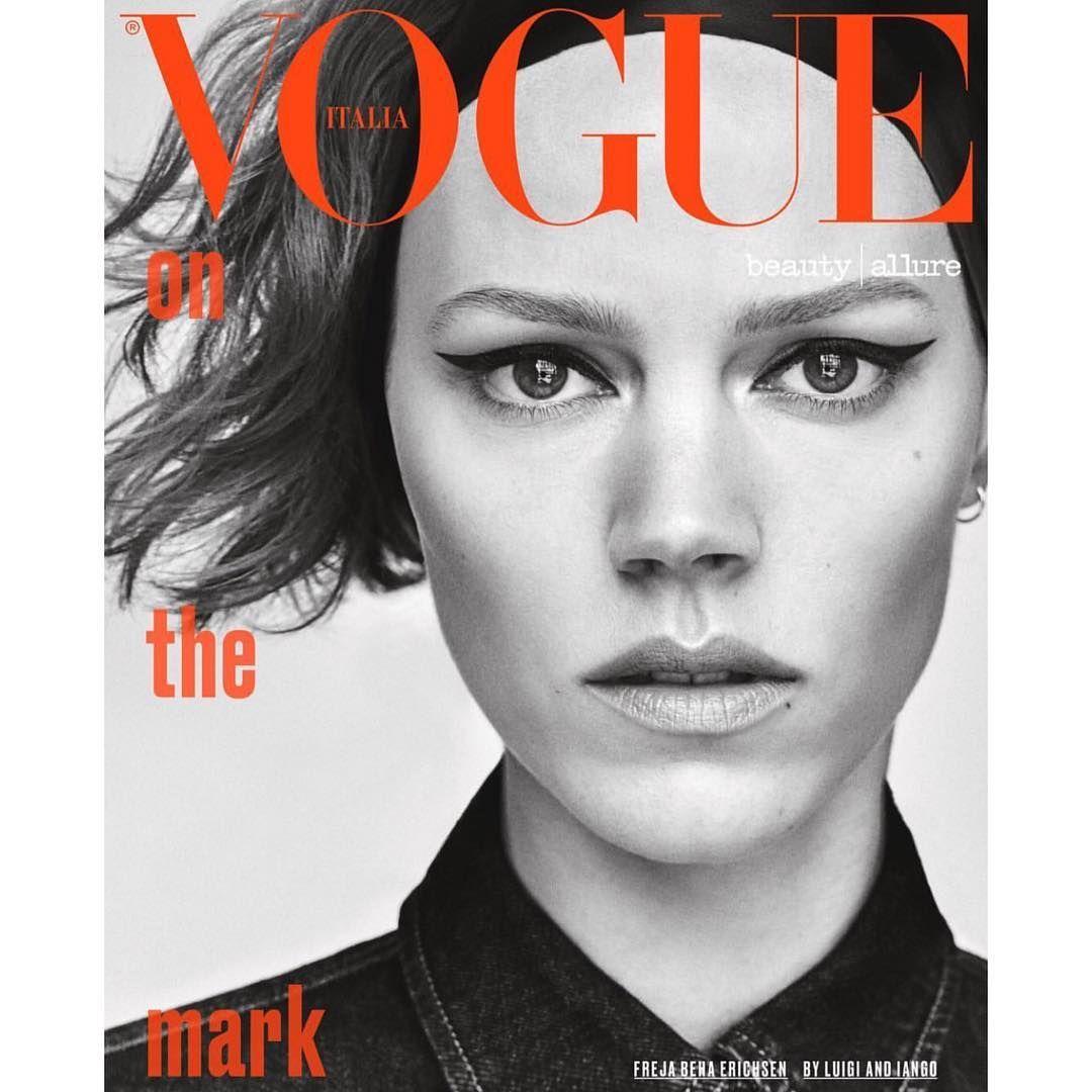 #Vogue Beauty Allure Italia #fashioneditorial #covershot
