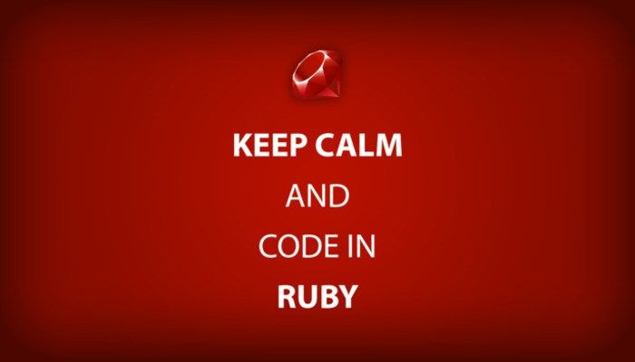 How to Learn Ruby for Free -   technnerd/how-to-learn-ruby