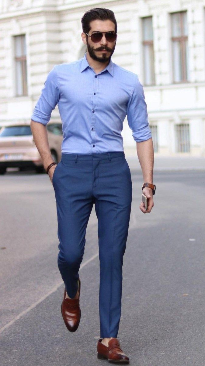 Essential Men Shirt Ideas For Your Summer Day 06 Formal Men Outfit Men Shirt Style Stylish Mens Outfits