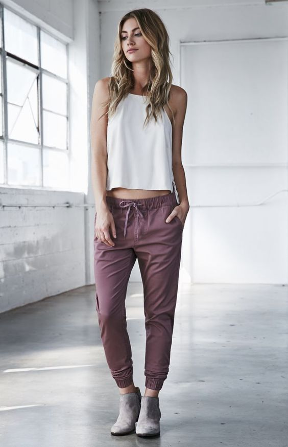 Ways To Wear Joggers Ropa Pantalones Deportivos Mujer Deportivas Mujer Casual