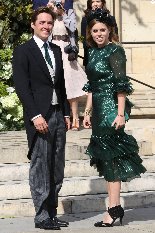 Princess Beatrice Attends Wedding of Ellie Goulding