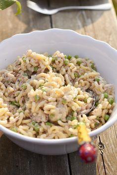 Tunfisch-Nudelsalat – super schnell und extrem lecker und mein Beitrag für alle lieben Pasta | tastesheriff #melonrecipes