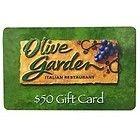 50 Olive Garden Giftcard Red Lobster Longhorn Steakhouse Etc