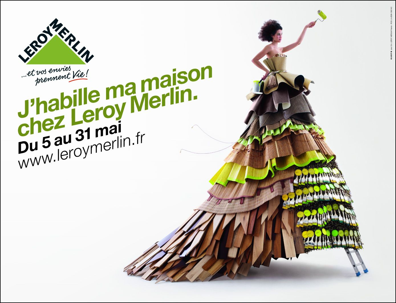 Une affiche pour Leroy Merlin | Merlin, Advertising, Household