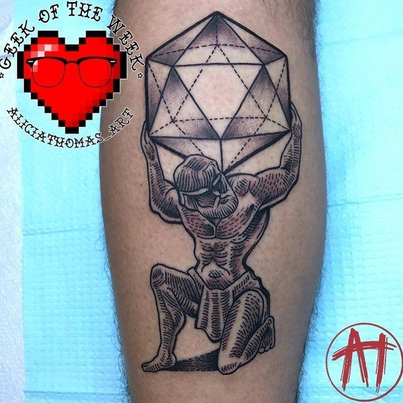 My first tattoo done by Alicia Thomas at Boston Tattoo Company