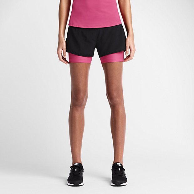 45 Nike 5cm Rival Perforated 2-in-1 – Short de running pour Femme ... 3ffed254b10