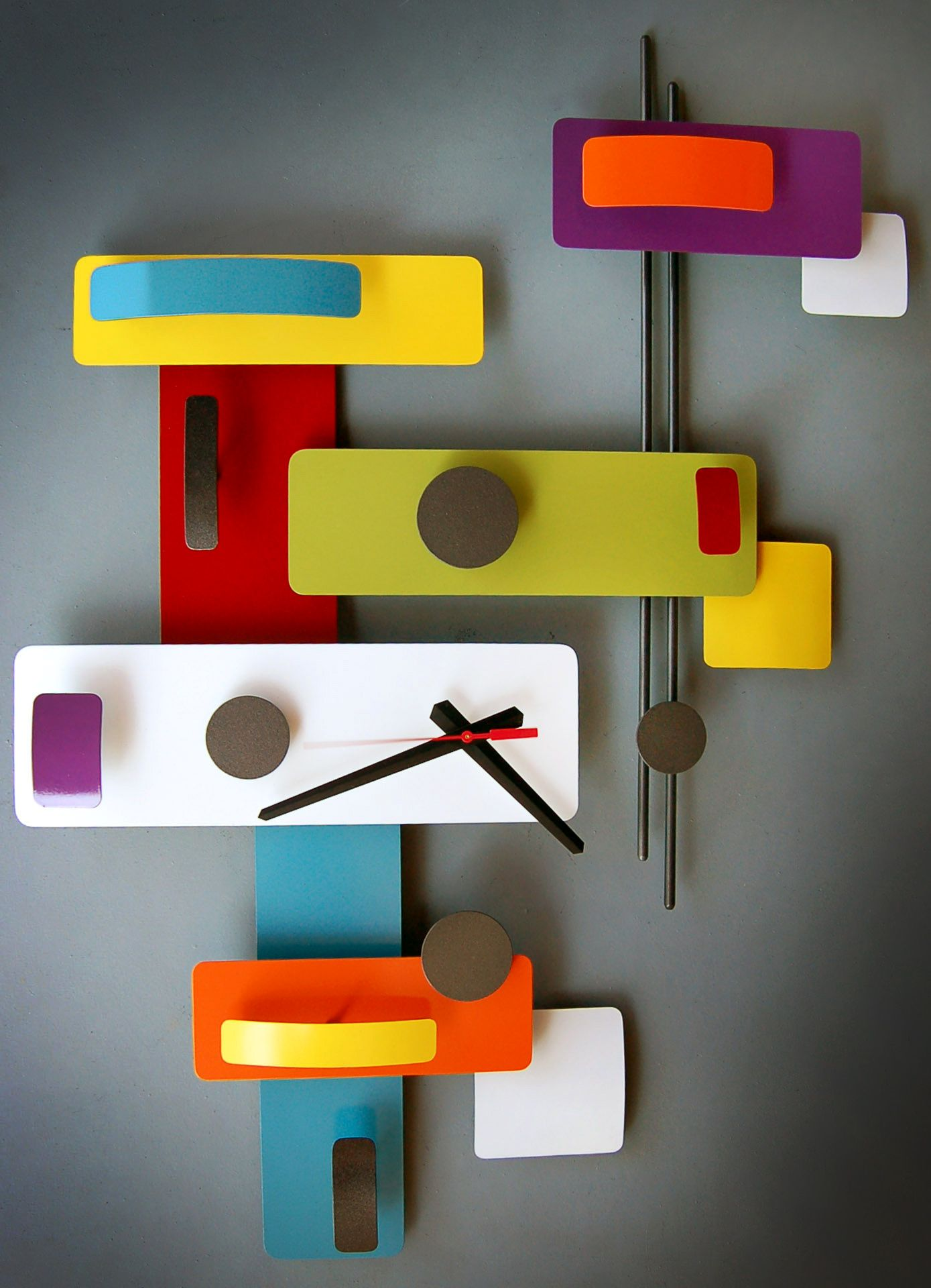 Retro Mod Clocks By Steve Cambronne I Like It Wall