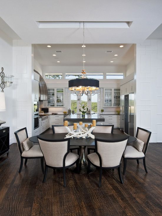 40 beautiful modern dining room ideas - Modern Dining Room Table Decor