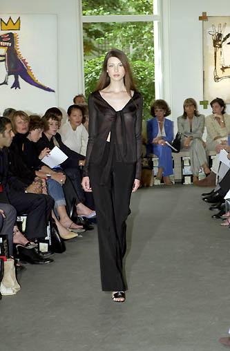 Feb Or March 2000 Caitriona Balfe Wearing Morteza