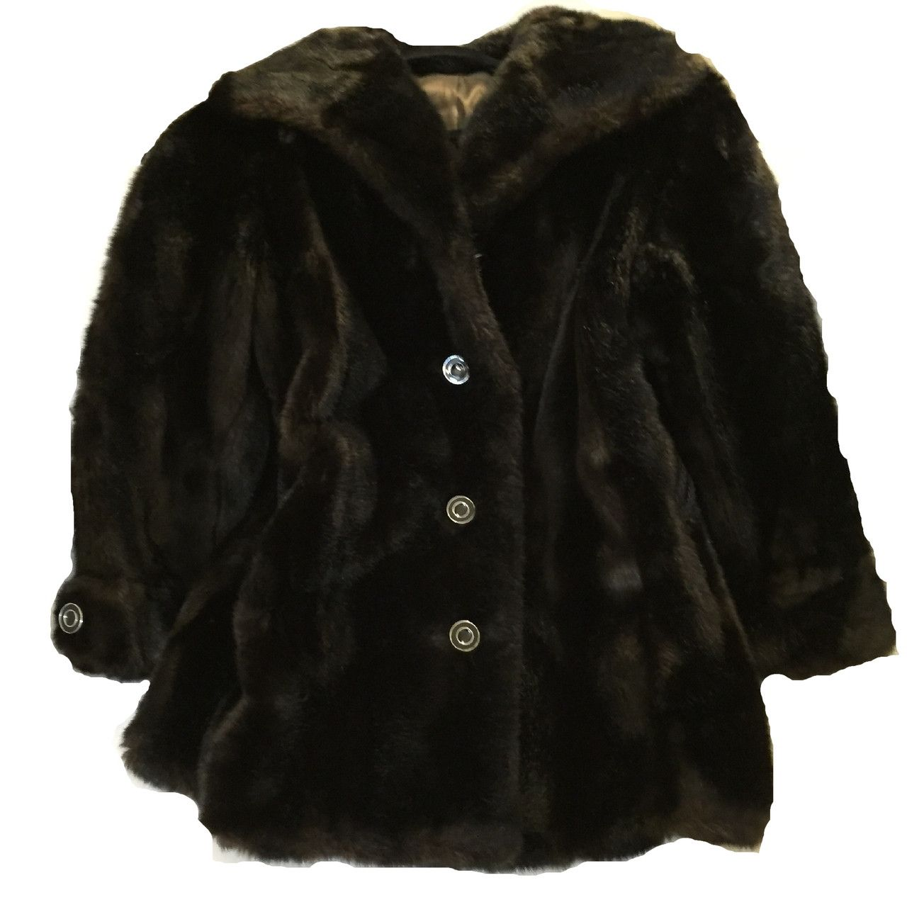 Size 10 - Fabulous Faux Fur Coat