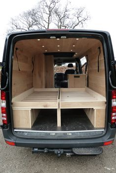 mercedes-sprinter-camper-met-eiken-interieur-groot-bed 1 | VANS ...
