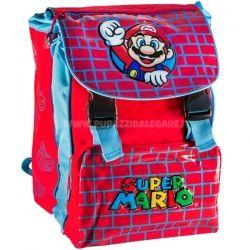 b3a2c10b2 Zaino scuola deluxe estensibile Super Mario Bros - Rosso Blu Wall ...