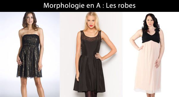 Robe de cocktail morphologie 8