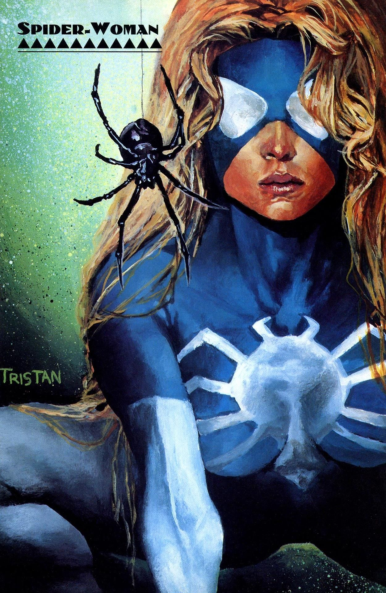 Spider Woman (Julia Carpenter) | Spider woman, Marvel comics superheroes,  Marvel cards