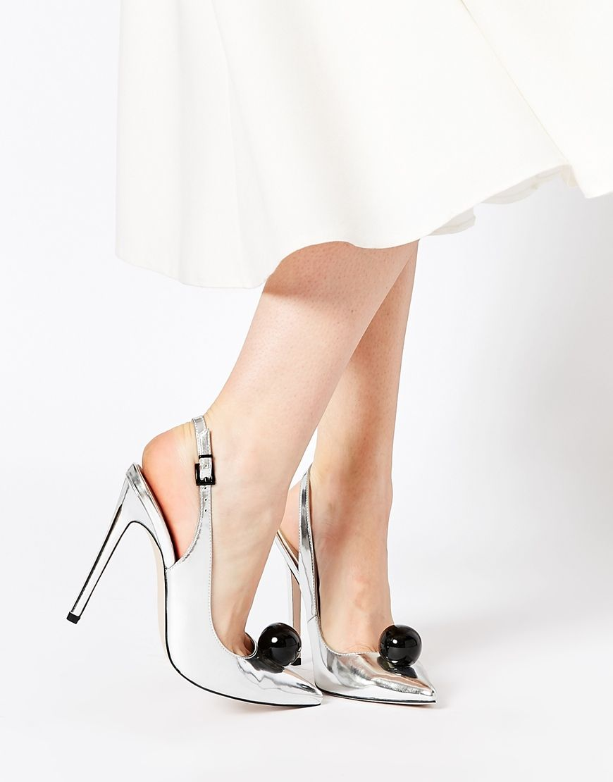 Buy Women Shoes / Asos Personality Pointed Heeled Shoes