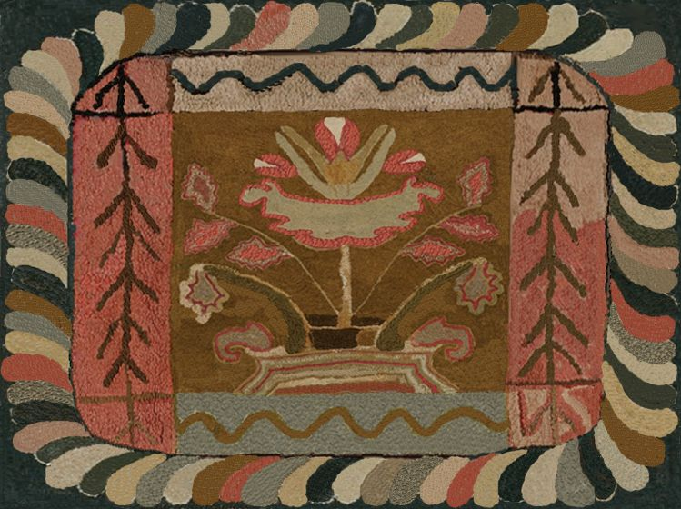 Antique Hooked Rugs Google Search